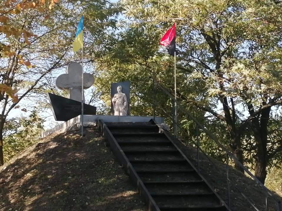 У селі Луцького району організували осінню толоку з нагоди Дня Українського козацтва