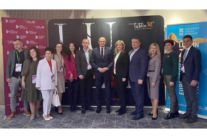 Делегація Луцькради долучилася до Конгресу транскордонної співпраці у Любліні