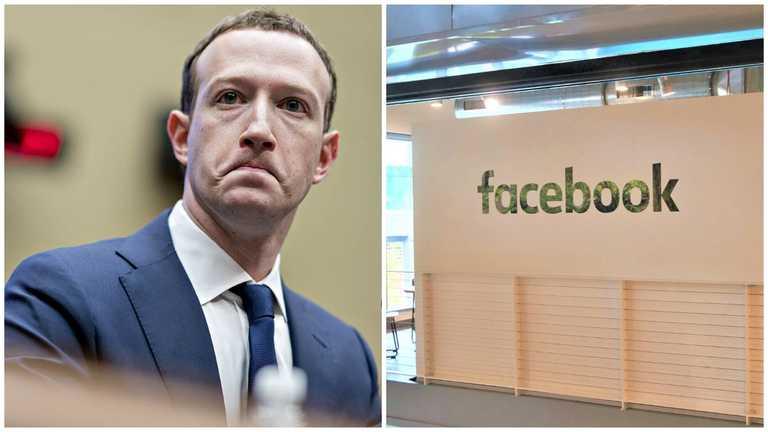 Працівники «Facebook» не можуть потрапити в офіс, щоб відновити роботу
