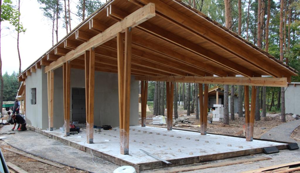 На Ратнівщині будують сучасний рекреаційний пункт