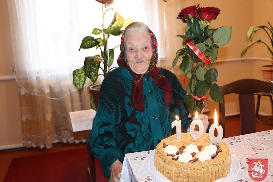 Жительку Володимира-Волинського привітали зі 100-річним ювілеєм