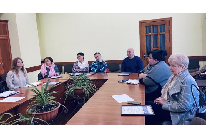 У Луцьку організували тренінг зі залученням представників національних меншин