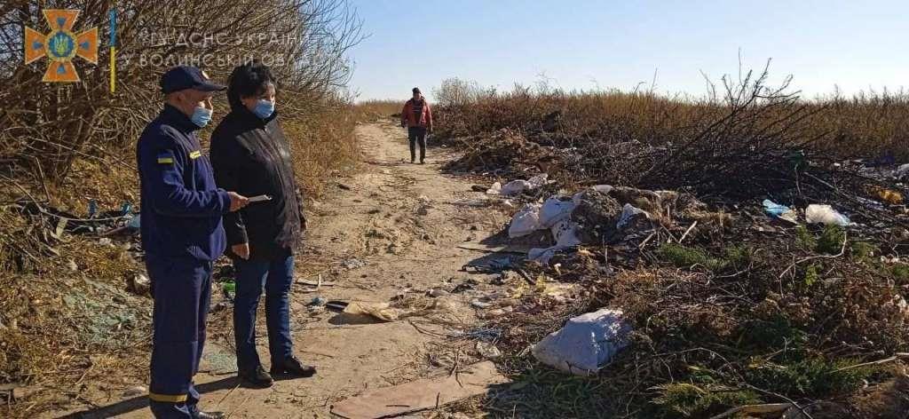 На Волині проводять рейди у місцях стихійних сміттєзвалищ