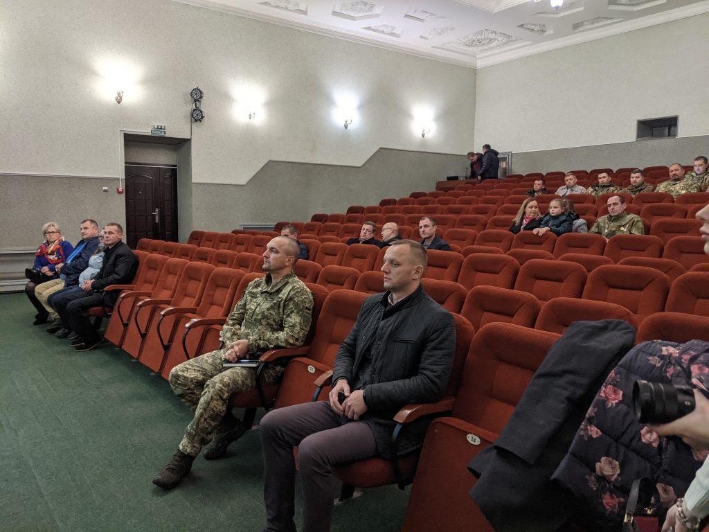 У Володимирі з військовослужбовцями та ветеранами обговорили проблемні питання